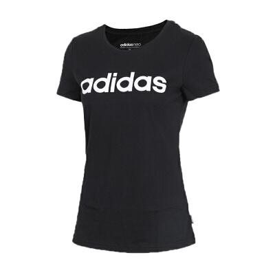 Adidas阿迪达斯 女装 女子运动休闲圆领短袖T恤 CV7026女子运动休闲圆领短袖T恤