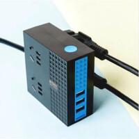 晨光双面四位USB延长线插座1.8米AEA98665