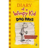 Diary of a Wimpy Kid #4 Dog Days 小屁孩日记4 (英国版,平装)ISBN 9780141331973