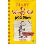 Diary of a Wimpy Kid #4 Dog Days 小屁孩日记4 (英国版,平装)ISBN 9780141331973