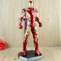复仇者联盟2公仔摆件12寸战损版钢铁侠MK43 MK45手办模型玩具