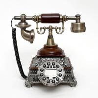 至臻仿古电话机欧式复古电话机工艺座机来电显示古董电话机礼品