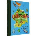 【英文原版】 Turvytops: A Really Wild Island 艺术插画系