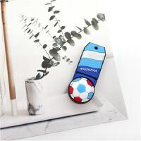 足球俱乐部徽章U盘8G世界杯足球纪念品优盘酒吧球迷小礼品随身碟