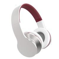E31 手机耳机有线头戴式(重低音笔记本耳麦 带话筒大耳罩 绝地求生听声辨位) 炫酷银