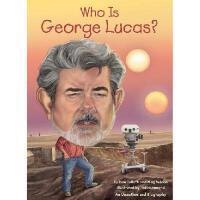 【现货】英文原版 Who Is George Lucas? 乔治・卢卡斯是谁? 名人认知系列 中小学生读物