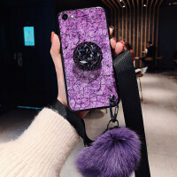 超火紫色vivoy83手机壳vivo y71保护套步步高Y81s防摔y81软壳viviy83a