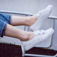 透气小白鞋女2019春夏季新款韩版百搭平底板鞋休闲鞋学生网红白鞋