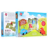儿童益智拼装玩具3-6周岁男女小孩智力游戏立体拼图轨道车