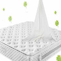 [当当自营]富安娜床垫 进口 乳胶床垫 席梦思床垫 静音独立分区弹簧床垫 婚床床垫 牛奶型面料 白色 120*190*25