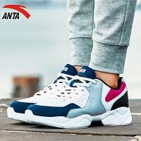 ANTA安踏女鞋跑步鞋秋季轻便健身训练休闲鞋运动鞋女综训鞋12647757