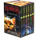 英文原版 猫武士首部曲 Warriors 1-6本全套盒装儿童奇幻英语小说 预言开始 一二三四五六 提升纯英文阅读能力