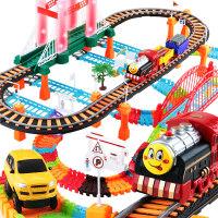 【支持礼品卡】拖马斯火车轨道玩具套装电动赛车男孩小汽车益智儿童3-6周岁4礼物e7o