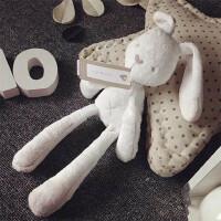 英国贵族玩具兔小熊玩偶抱偶手偶婴儿安抚玩具兔宝宝陪睡毛绒公仔