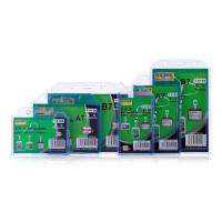 科记PVC软卡套 透明卡套 学生挂牌 工作牌 姓名卡套 门禁卡 参会证 横款/竖款胸卡 10个价钱 多款可选(只有卡套