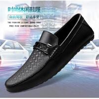 皮鞋男真皮夏2019春夏新款商�展ぷ髡��b鞋四季上班鞋男鞋子