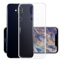 诺基亚x7手机壳 诺基亚 X7手机套 诺基亚x7保护套壳 透明硅胶全包手机壳套TPU软壳