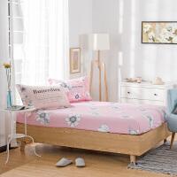 防滑纯棉床笠 单件加高床垫套 席梦思保护套全棉床罩1.2/1.5米1.8米