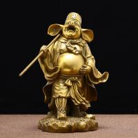 西游记二师兄纯铜天蓬元帅铜像猪八戒猪刚鬣家居工艺品礼品摆件