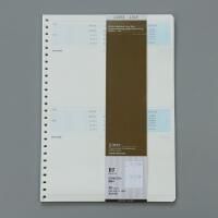 笔记本巨门错题本纠错本活页本内芯活页纸替换内页学生文具26孔B5