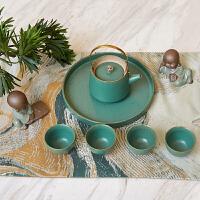 新中式茶具茶室茶壶茶杯套装摆件现代样板间客厅书房办公室装饰品