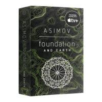 银河帝国7 基地与地球 Foundation and Earth 英文原版小说 英文版科幻小说书 Isaac Asimo