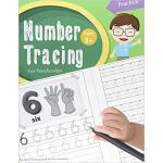 【预订】Number Tracing Book for Preschoolers: Number Tracing Bo
