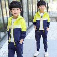 童装男童套装春装儿童运动休闲男孩卫衣中大童两件套