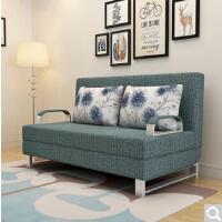未蓝生活沙发床两用折叠双人小户型1.8米布艺沙发现代简约