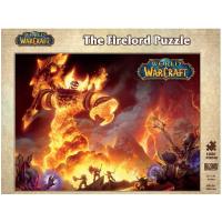 现货 魔兽世界:炎魔之王拉格纳罗斯拼图 游戏周边 暴雪 英文原版 World of Warcraft: The Fir