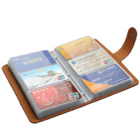 大容量卡包男士真皮名片包女式银行信用卡夹超薄卡套卡片包多卡位