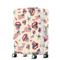 2018新款欧美风行李箱万向轮男女拉杆箱旅行箱潮流abs镜面拖箱