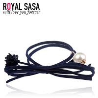 皇家莎莎RoyalSaSa发圈发绳橡皮筋头饰品蝴蝶结头绳发卡韩版花朵头花发饰