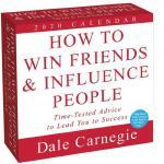 英文原版 人性的弱点2020年日历 每天一页 卡耐基成功学 励志经典 How to Win Friends and I