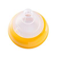 """贝亲 """"自然实感""""宽口径玻璃奶瓶安心组合(240ml)-黄色"""