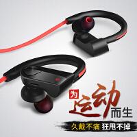 Liweek 无线蓝牙耳机 运动型 跑步 无线耳塞挂耳式4.1 双耳入耳式蓝牙耳机 迷你超小 苹果iphone7plu