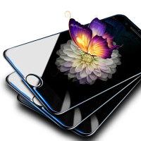 【三片装】苹果7/6s/6高清钢化膜 iPhone7/6s/6高清钢化膜 手机高清玻璃膜裸膜保护贴膜