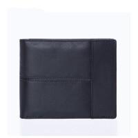 男士手包驾驶证钱包一体男士钱包钱夹短款头层牛皮多卡位2折男士皮夹零钱包