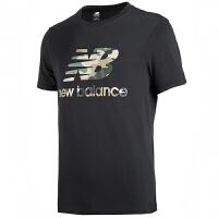 New Balance/NB男装运动短袖男休闲透气圆领T恤AMT01581BK
