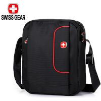 SWISSGEAR瑞士军刀男士单肩包 耐磨斜挎男包ipad收纳包通勤包小背包