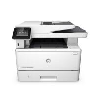 惠普HP LASERJET PRO MFP M427FDW 黑白激光多功能打印复印扫描传真一体机 自动双面 无线直连 彩色触屏