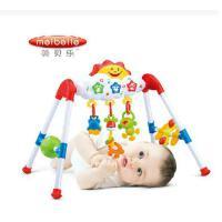 美贝乐宝宝益智能早教新生婴儿音乐健身架健身器玩具0-1岁