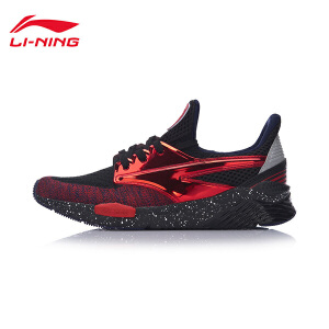 李宁休闲鞋男鞋运动时尚系列Exceed李宁云减震透气一体织运动鞋AGCM052