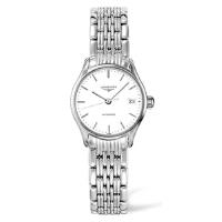 浪琴Longines-律雅系列 L4.360.4.12.6 机械女士手表