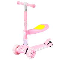 儿童滑板车三合一单脚小孩子滑滑溜溜踏板男女宝宝
