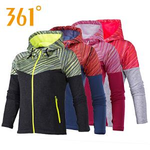 361度女装卫衣新款361跑步运动外套套装上衣561632801AC