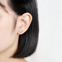 女星星耳环男简约气质可爱耳饰品
