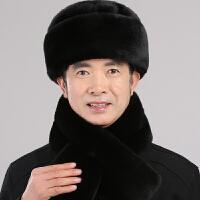 中老年人帽子男士户外冬季爷爷老人棉帽子东北保暖爸爸雷锋帽