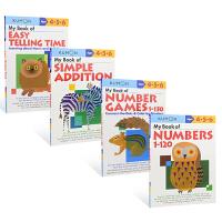 【首页抢券300-100】Kumon Math Skills Workbooks Ages 4-6岁 公文式教育 数学技
