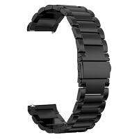 新款三星galaxy watch active智能手表表带米兰尼斯磁吸回扣金属不锈钢穿戴腕带男女腕带 三星galaxy